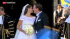 Video «Hochzeit der Prinzessin von Schweden» abspielen