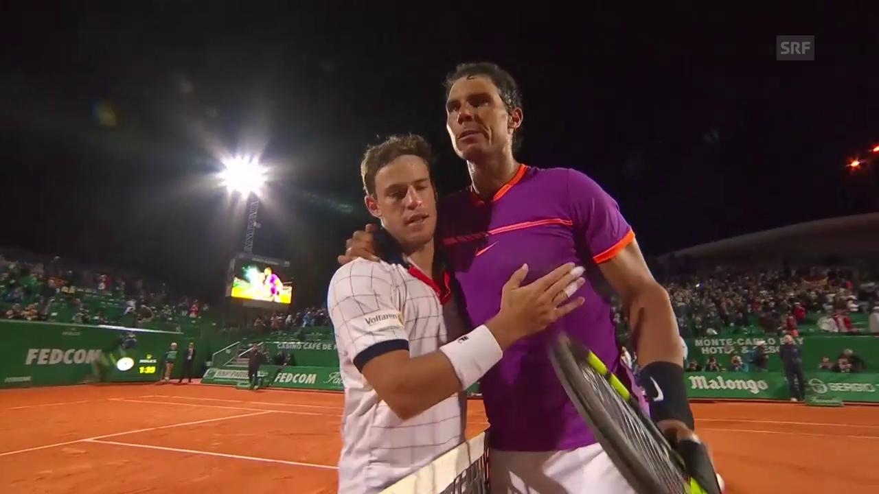 Nadal setzt sich auch gegen Schwartzmann souverän durch
