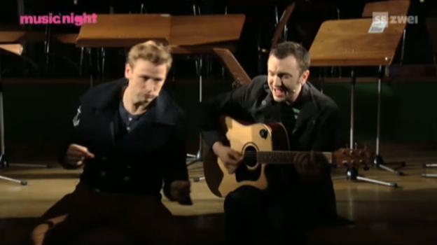 Video «Kummerbuben: live mit «Chevaliers De La Table Ronde»» abspielen