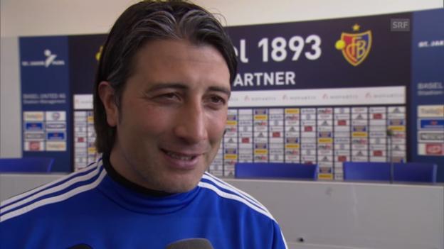Video «Interview mit FCB-Trainer Murat Yakin» abspielen