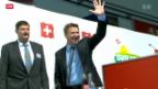 Video «Bundesratswahl das grosse Thema bei der SVP» abspielen