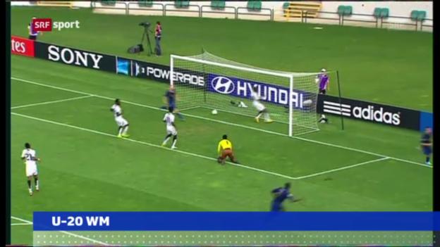 Video «U20-WM: Halbfinal Frankreich - Ghana («sportaktuell»)» abspielen