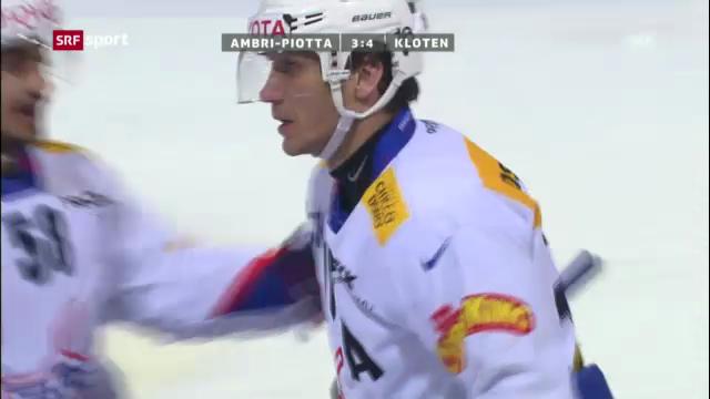 NLA: HC Ambri-Piotta - Kloten Flyers