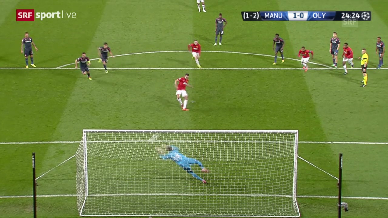Champions League: Highlights Manchester United - Olympiakos («sportlive»)