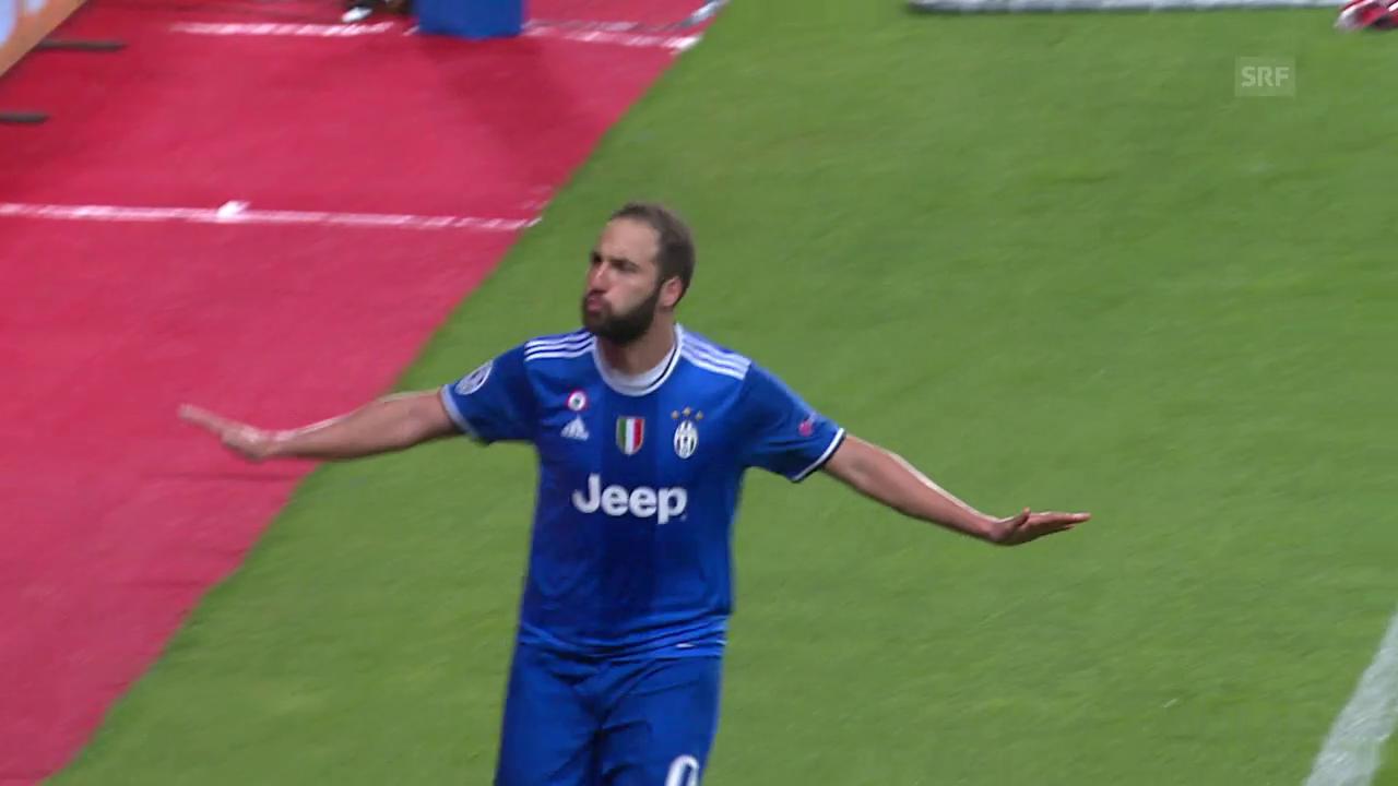 Higuain schiesst Juventus zum Sieg bei Monaco