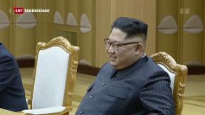 Video «Trump meets Kim Jong Un» abspielen
