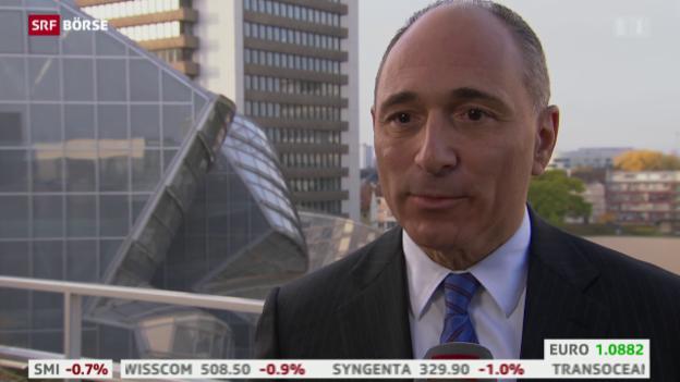 Video «SRF Börse vom 27.10.2015» abspielen