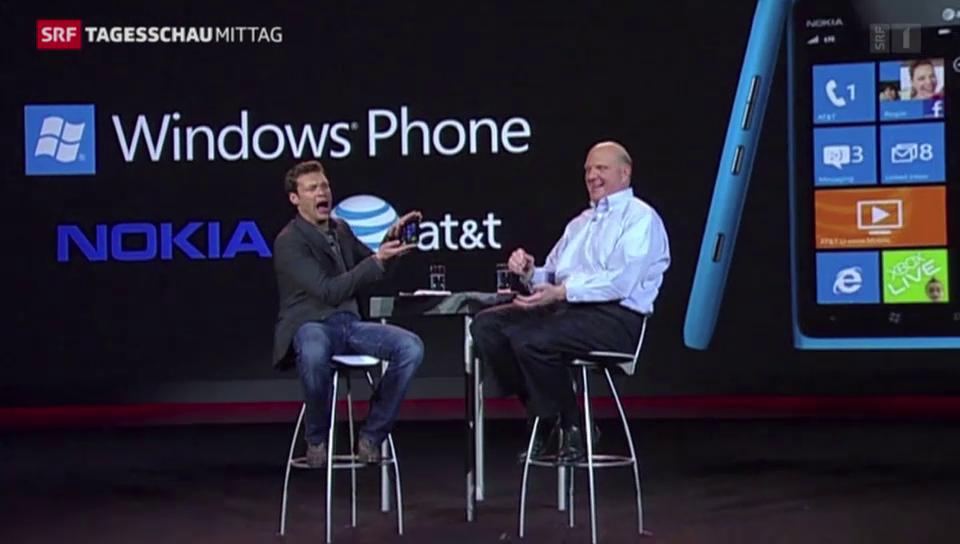 Microsoft krankt an seinem Handy-Geschäft