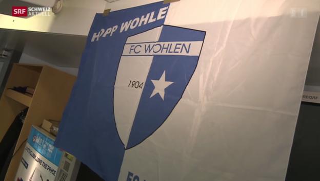 Video «FC Wohlen zum «Fall Wellington»» abspielen