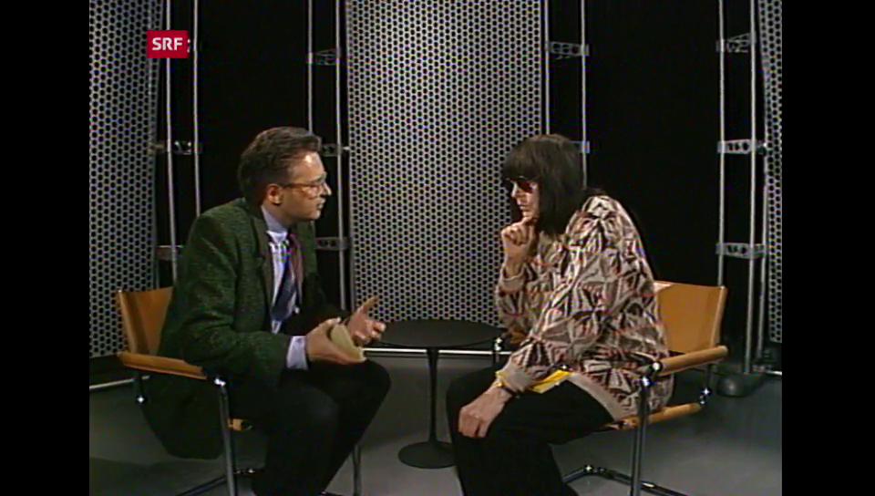 Aus dem Archiv: Friederike Mayröcker 1988