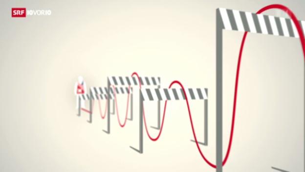 Video «Hürdenlauf für US-Steuerdeal» abspielen