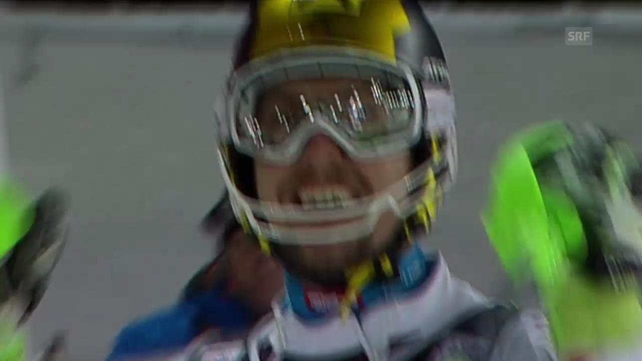 Ski alpin: Slalom in Zagreb, 2. Lauf Marcel Hirscher