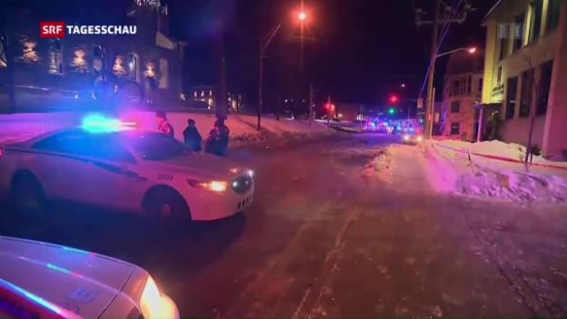 Video «Anschlag auf Moschee in Québec» abspielen