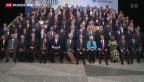 Video «Die Schweiz an der Tagung des IWF» abspielen