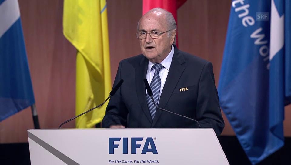 Die Rede von Joseph Blatter
