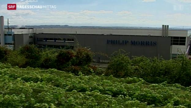 Video «Entlassungen bei Philip Morris» abspielen