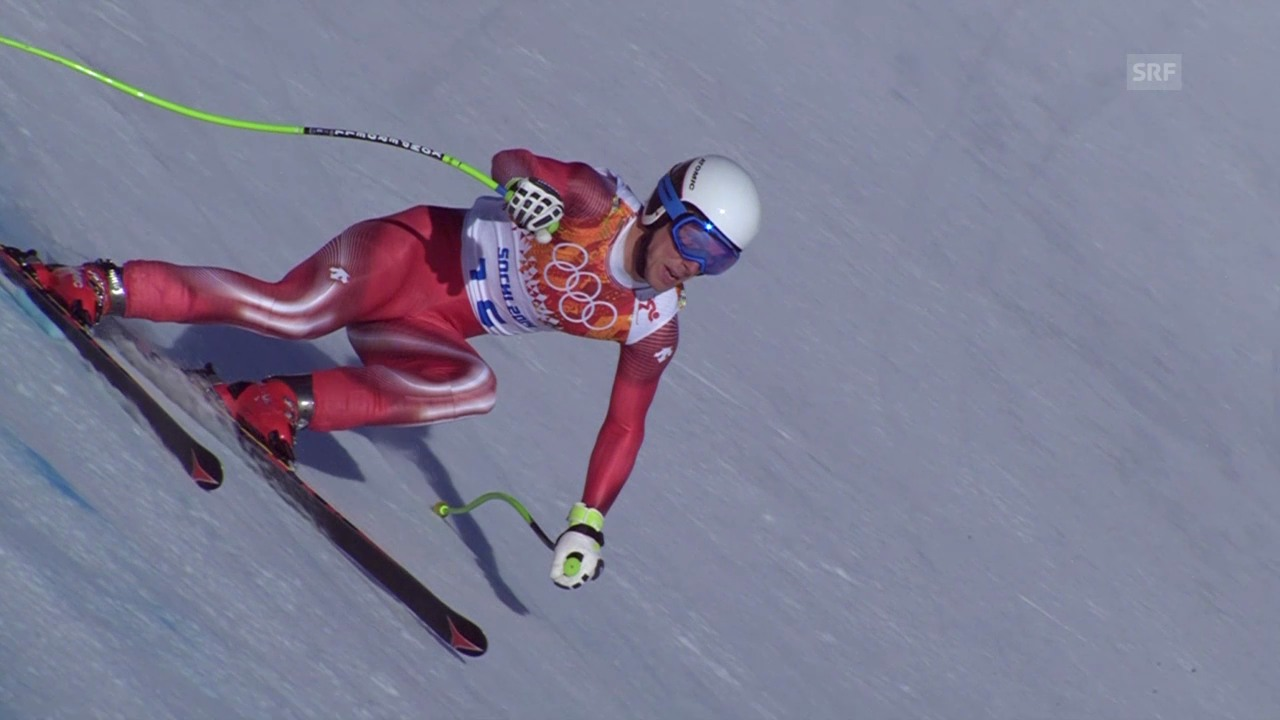Ski: Zusammenfassung Kombinationsabfahrt der Männer (14.02.2014)