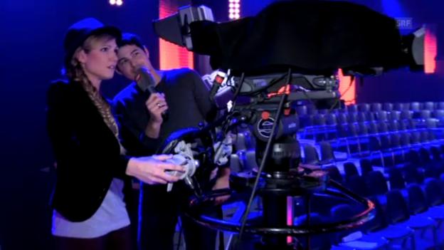 Video ««Kamerakind» Viola beim Kameramann Timo» abspielen