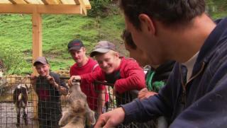 Video «Wir von da oben – Generationenwechsel auf der Alp» abspielen