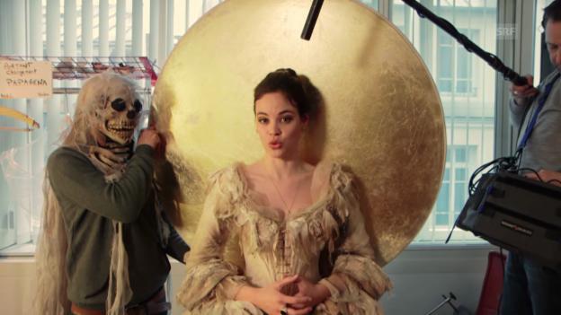 Video «In Regula Mühlemanns Künstlergarderobe an der Opéra Bastille» abspielen