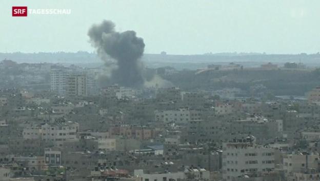 Video «Israel warnt Bewohner im Gazastreifen» abspielen