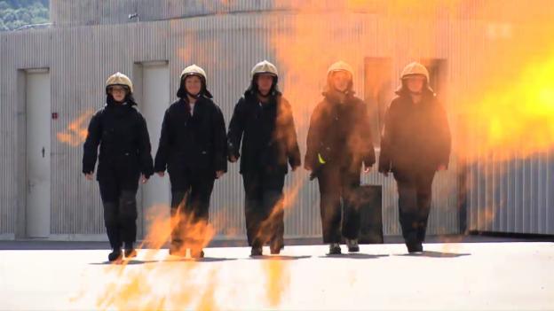 Video «Es brennt, es brennt» abspielen