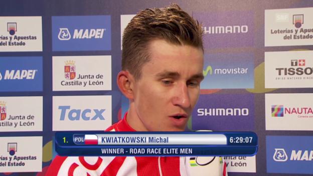 Video «Rad: Interview mit Michal Kwiatkowski (englisch)» abspielen