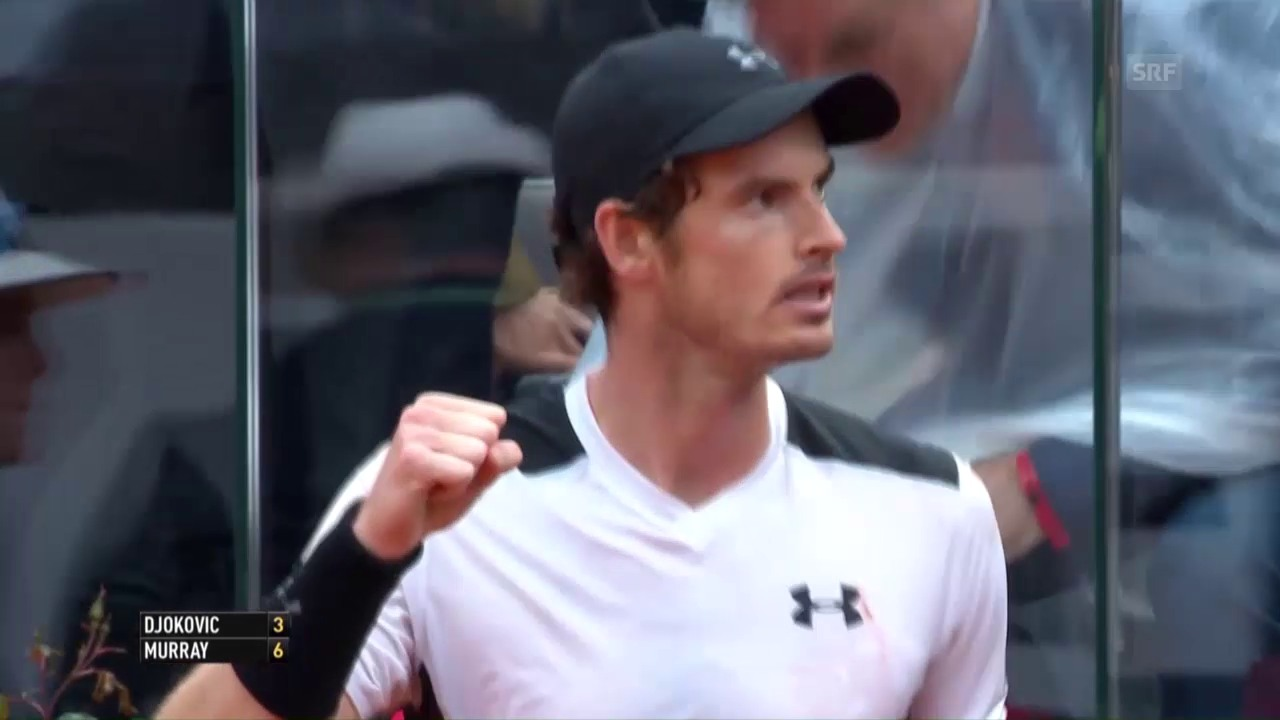 Murray entthront Djokovic in Rom (SNTV)