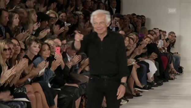Video «Ralph Lauren an der New York Fashion Week» abspielen