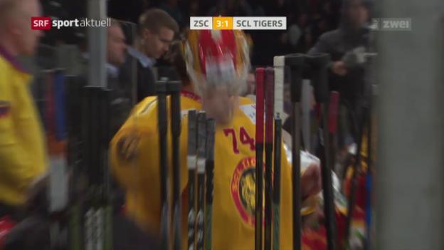 Video «Lions gewinnen Schützenfest gegen Langnau» abspielen