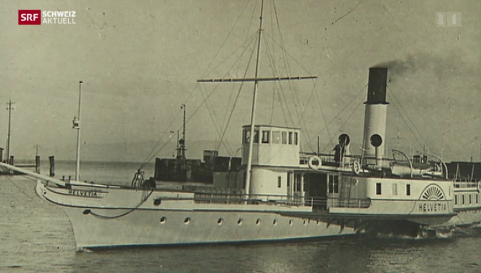 Versenktes Dampfschiff wiederentdeckt
