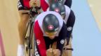 Video «Schweizer Bahnvierer auf Platz 7» abspielen