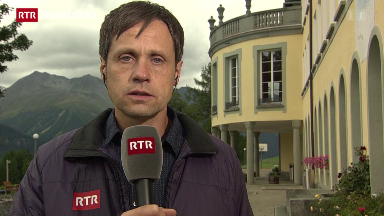 Valitaziun da la situaziun a Ftan tras David Spinnler, correspundent regiunal da RTR