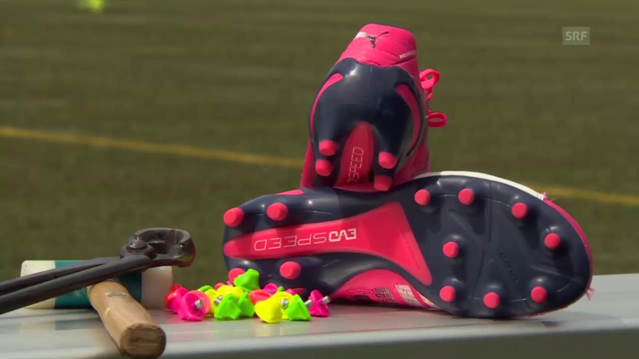Fussball: Bis in die Schuhspitzen vorbereitet