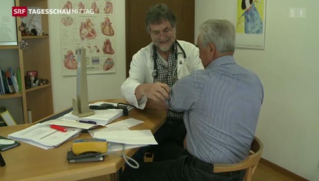 Video «Krankenkassenprämien steigen erneut» abspielen