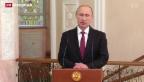 Video «Auf Waffenruhe in der Ukraine geeinigt» abspielen