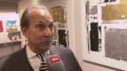 Video «Raymond Fein lässt seine Kunst für den guten Zweck ersteigern» abspielen