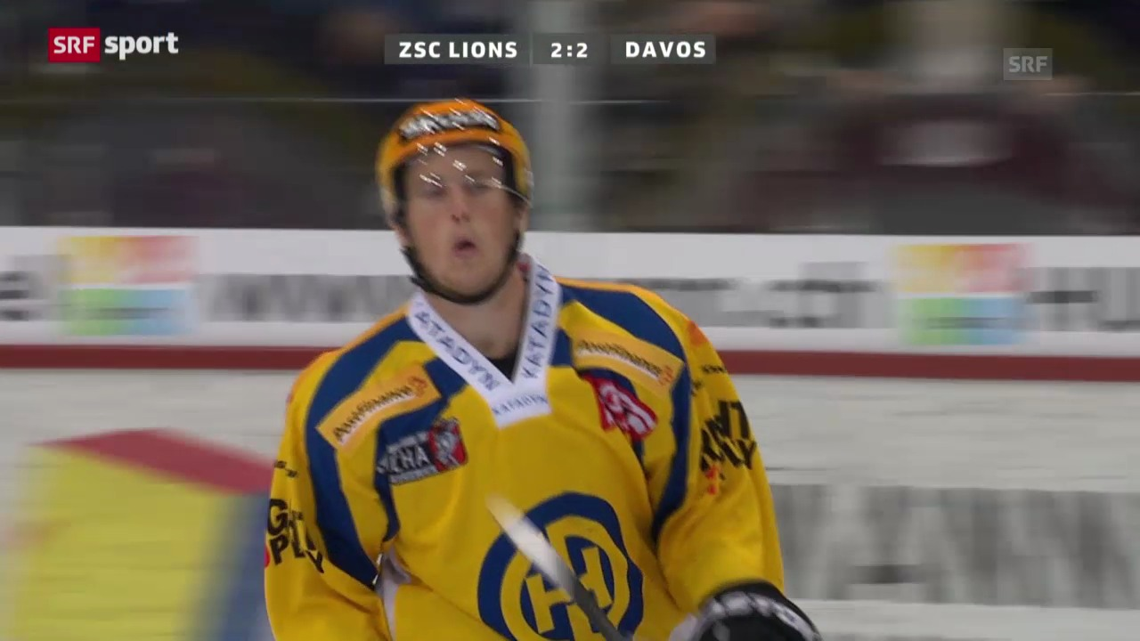 ZSC Lions-Davos («sportaktuell»)
