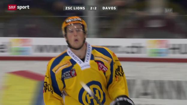 Video «ZSC Lions-Davos («sportaktuell»)» abspielen
