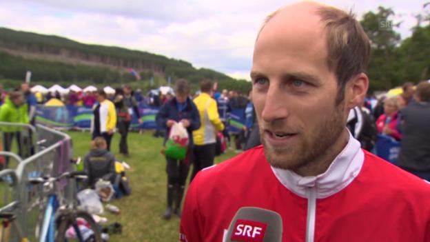 Video «OL: WM in Inverness, Interview mit Cheftrainer Patrick Thoma» abspielen