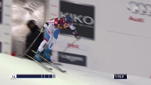 Video «Ski alpin: Riesenslalom Are, 2. Lauf Wendy Holdener («sportlive», 6.3.14)» abspielen