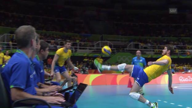 Video «Füsse im Volleyball» abspielen
