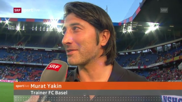 Video «Interview mit FCB-Trainer Murat Yakin» abspielen