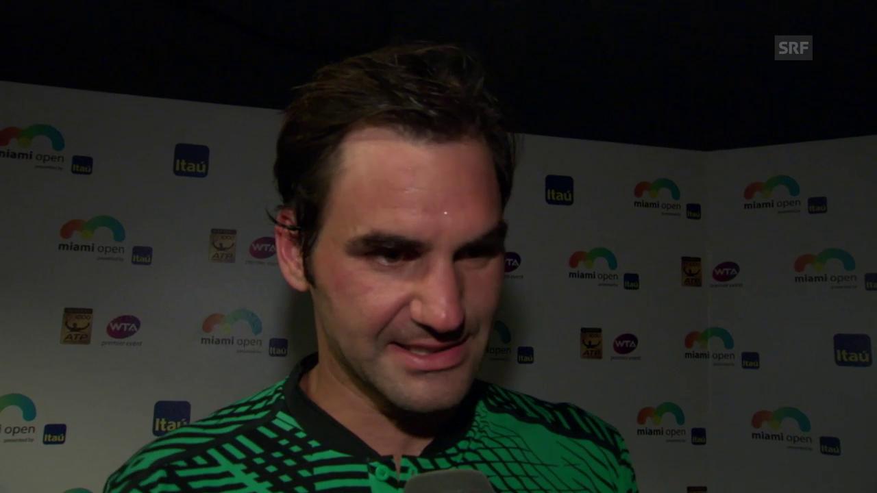 Roger Federer über die ersten Duelle gegen Nadal