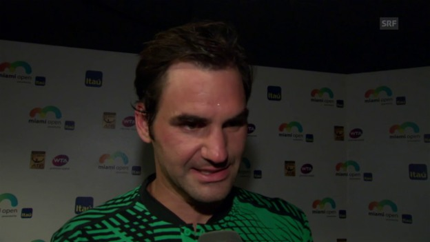Video «Roger Federer über die ersten Duelle gegen Nadal» abspielen