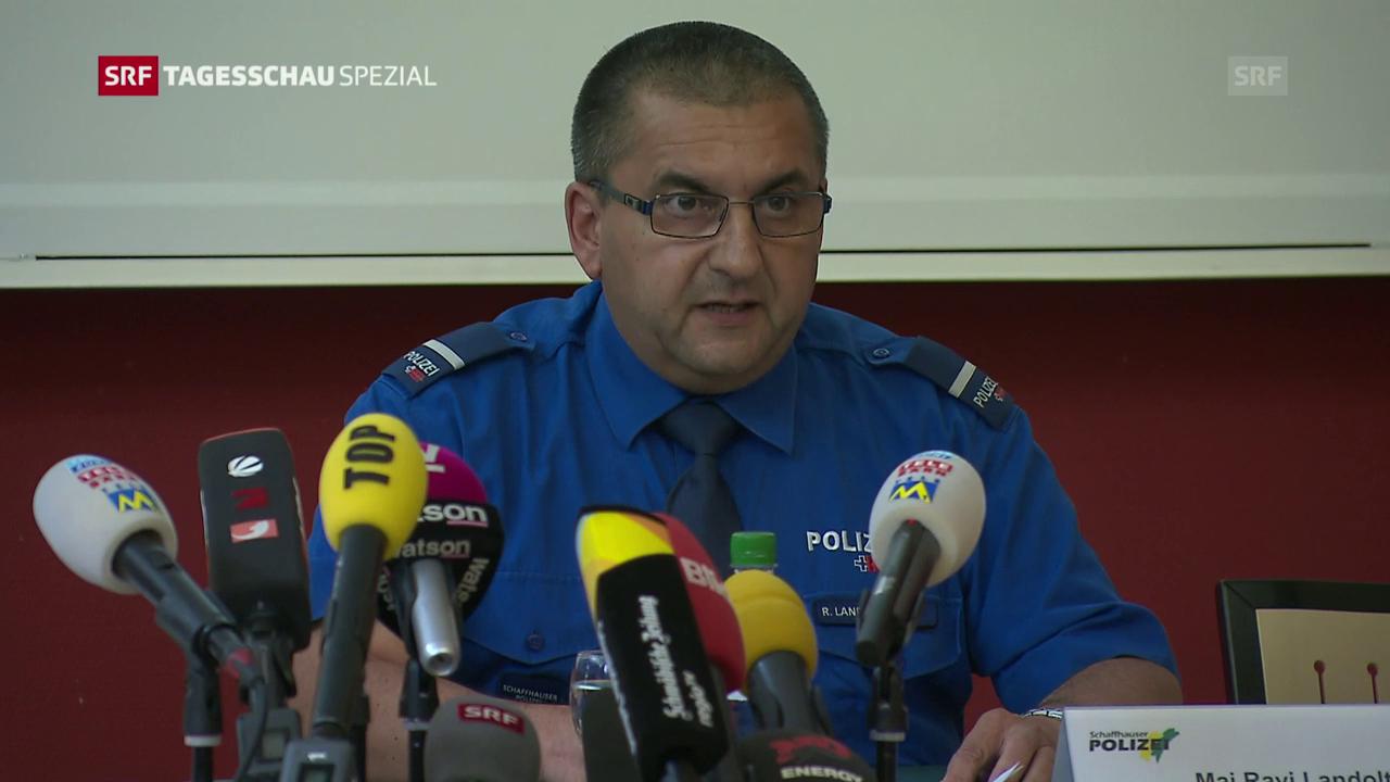 Einsatzleiter: «Täter hält sich vor allem in Wäldern auf»