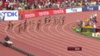 Video «Leichtathletik: WM in Peking, Vorlauf 4x100 m Frauen» abspielen