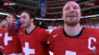 Video «Eishockey: Schweizer Halbfinal-Triumph gegen die USA» abspielen