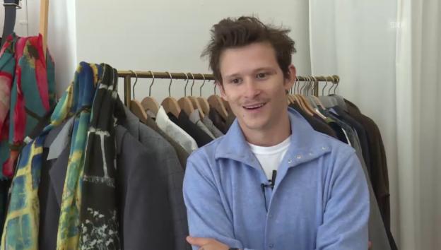 Video «Joel Basman: Zwischen Schaupielerei und Modedesign» abspielen