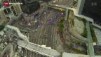 Video «In Hongkong stehen die Zeichen auf Entspannung» abspielen